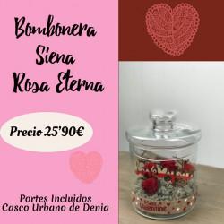 Bombonera Siena Rosa Eterna