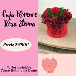 Caja Florence Rosa Eterna