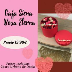 Caja Siena Rosa Eterna