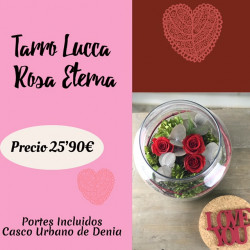 Tarro Lucca Rosa Eterna