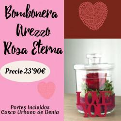 Bombonera Arezzo Rosa Eterna